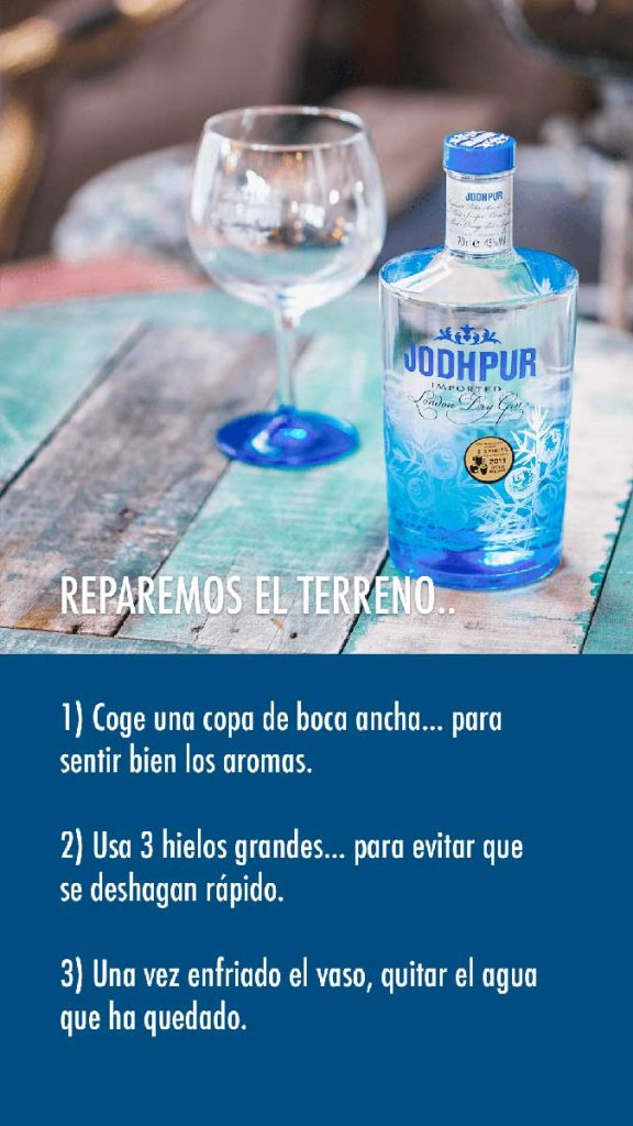 hacer un Gin Tonic paso 1