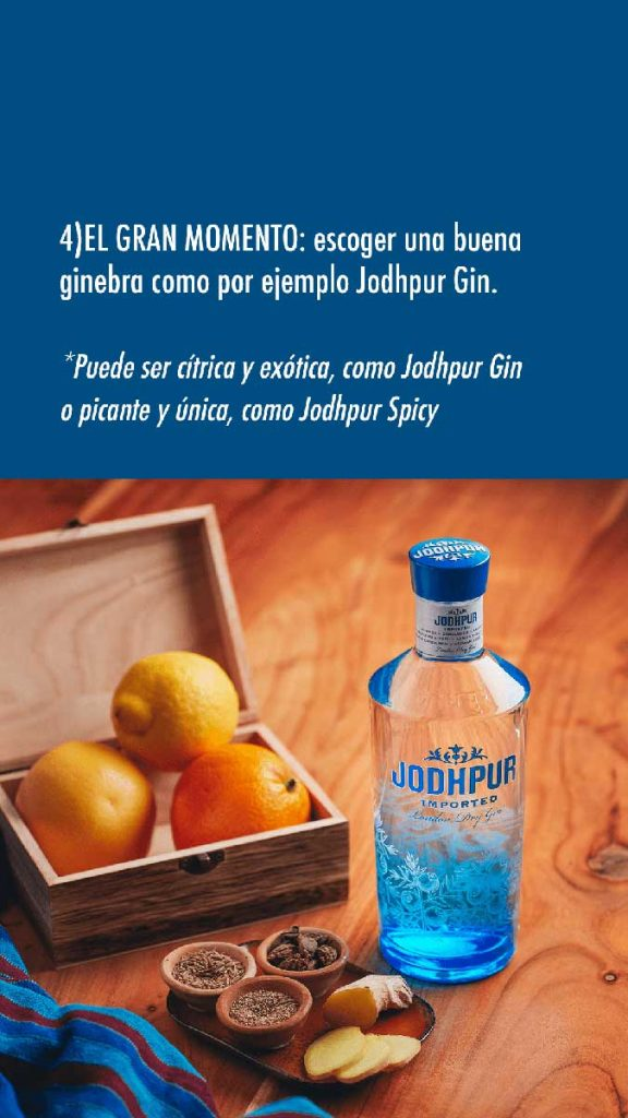 hacer un Gin Tonic paso 2