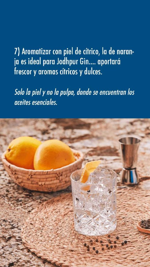 hacer un Gin Tonic paso 5