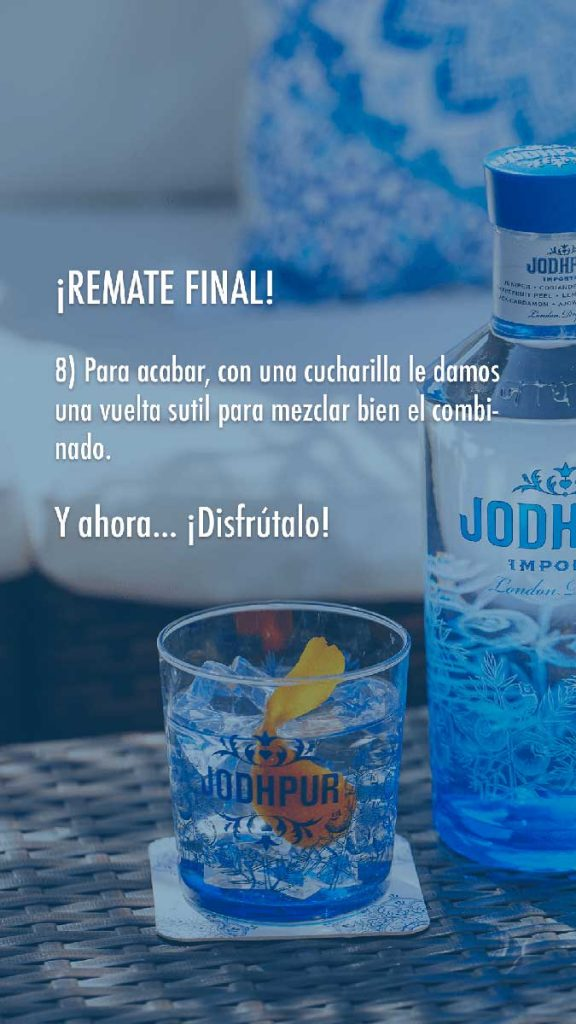 hacer un Gin Tonic paso 6